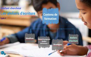MLF Stage 2019 Enfant chercheur -Atelier écriture